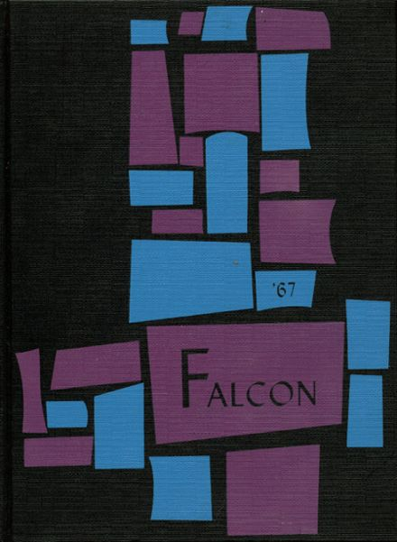 1967 Elmira High School Yearbook Cover