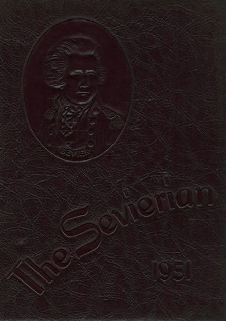1951 Sevier County High School Yearbook Cover