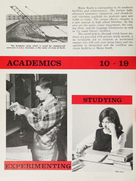 1965 Maine South High School Yearbook Page 6