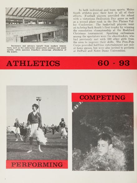 1965 Maine South High School Yearbook Page 8