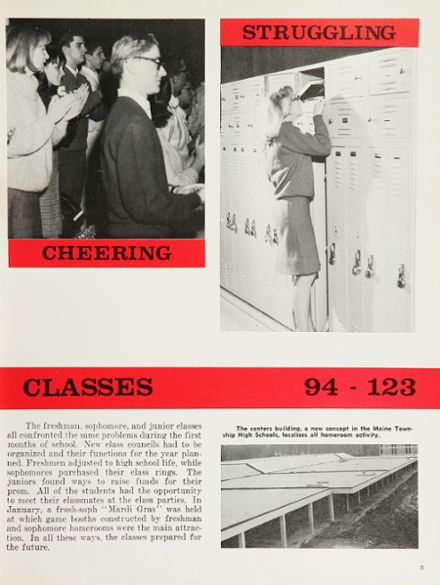 1965 Maine South High School Yearbook Page 9