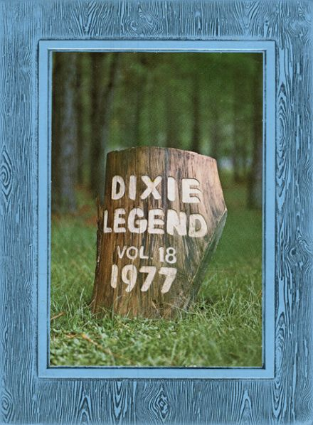 1977 Dixie Hollins High School Yearbook Cover
