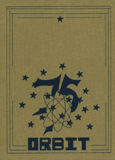 1975 Queensbury High School Yearbook Cover