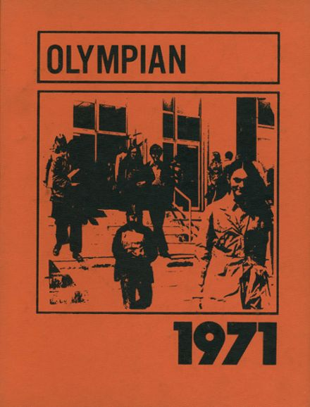 1971 Biddeford High School Yearbook Cover