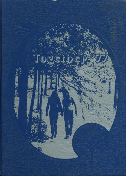 1977 Wood High School Yearbook Cover