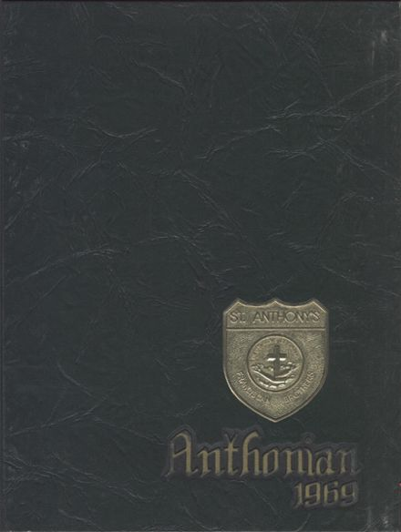 1969 St. Anthony's High School Yearbook Cover
