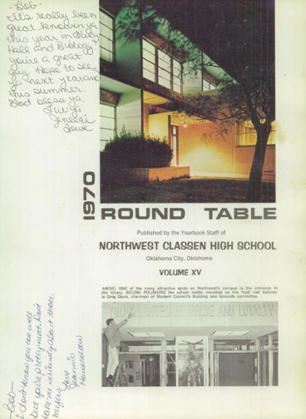1970 Northwest Classen High School Yearbook Page 5