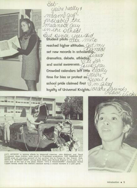 1970 Northwest Classen High School Yearbook Page 9