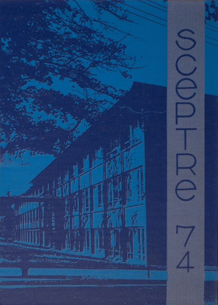 1974 St. Mary's Regional High School Yearbook Cover