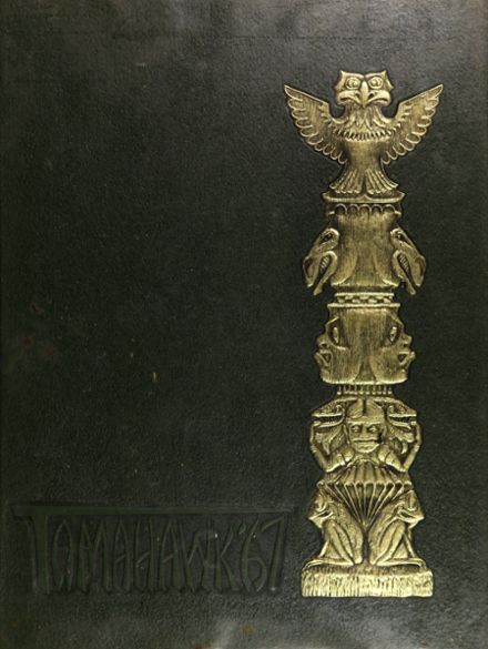 1967 Choctawhatchee High School Yearbook Cover