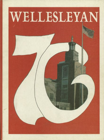 1976 Wellesley High School Yearbook Cover