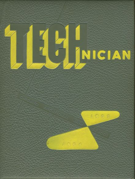 1954 Chicago Vocational Yearbook Cover