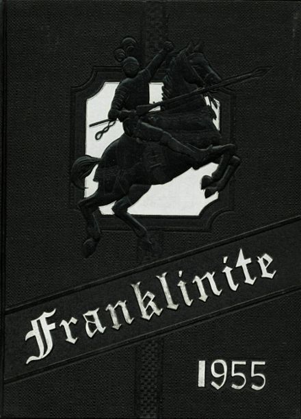 1955 Franklin High School Yearbook Cover