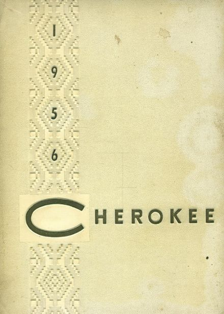 1956 Sequoia High School Yearbook Cover