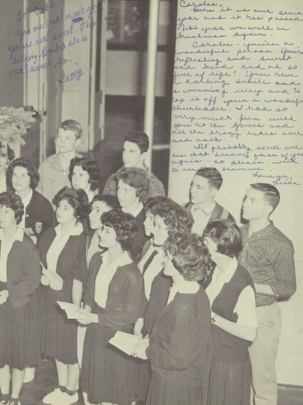 1961 St. Teresa's Academy Yearbook Page 3