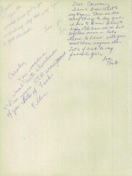 1961 St. Teresa's Academy Yearbook Page 4