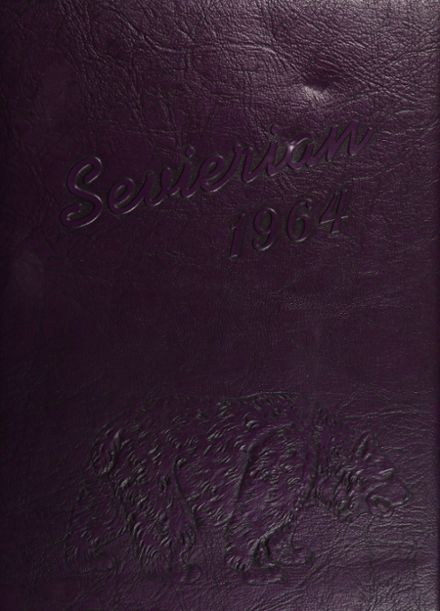 1964 Sevier County High School Yearbook Cover