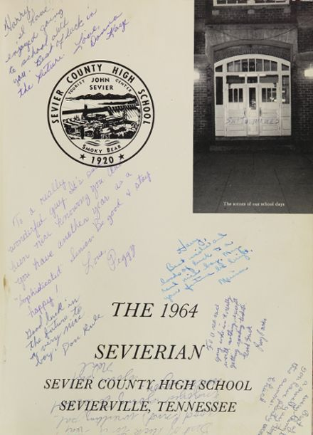 Explore 1964 Sevier County High School Yearbook ...