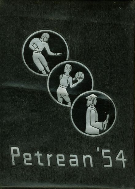 1954 St. Peter's High School Yearbook Cover