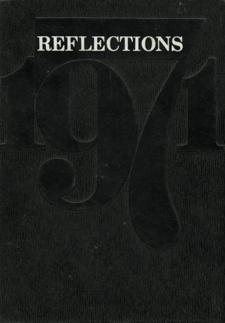 1971 Coconino High School Yearbook Cover