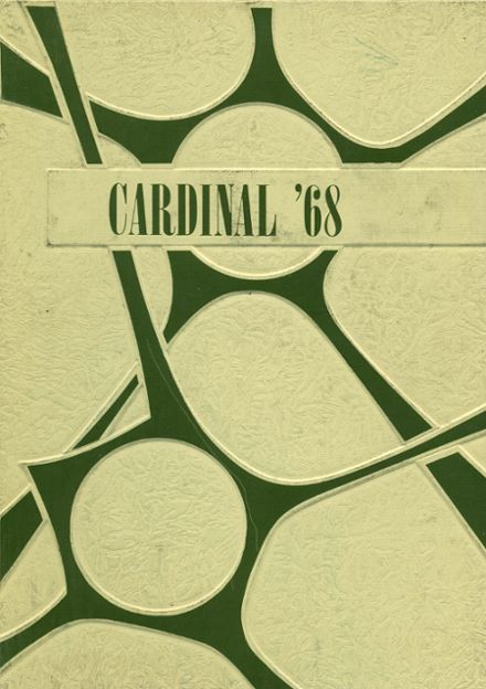 1968 Plainville High School Yearbook Cover