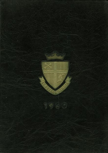1960 St. Peter's School for Boys Yearbook Cover