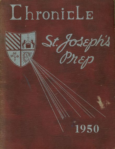 1950 St. Joseph's Prep School Yearbook Cover