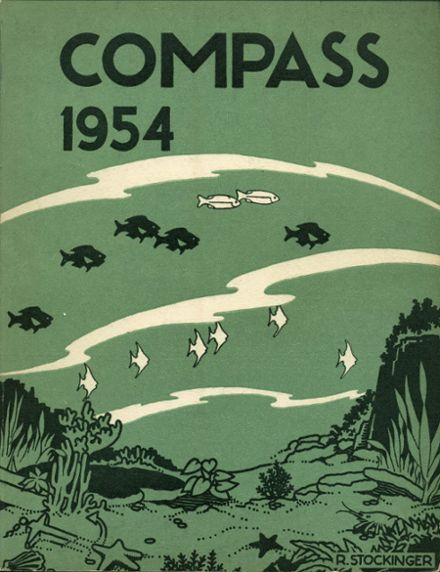 1954 Kensington High School Yearbook Cover