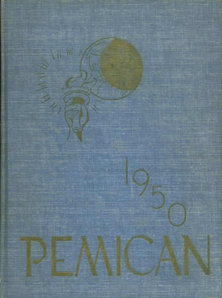 1950 High Point Central High School Yearbook Cover