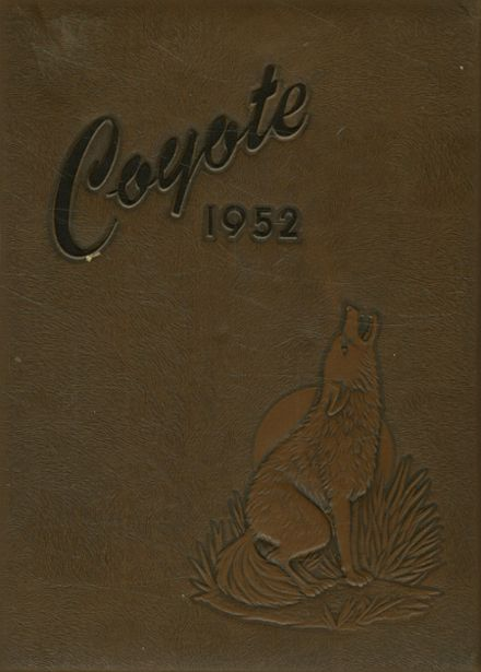 1952 Williston High School Yearbook Cover