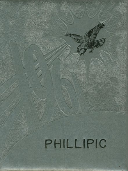1961 Phillips High School Yearbook Cover
