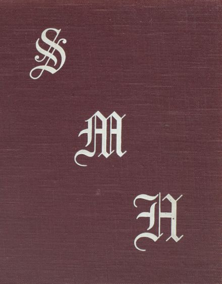 1938 St. Mary's Hall High School Yearbook Cover