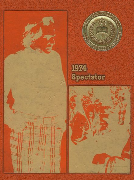 1974 Wayne Memorial High School Yearbook Cover