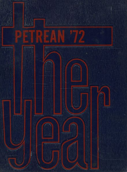 1972 St. Peter's High School Yearbook Cover
