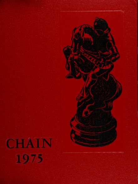 1975 Charlottesville High School Yearbook Cover