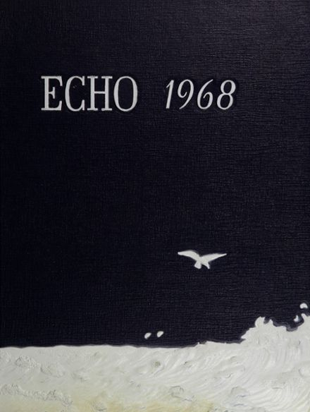 1968 John Piersol McCaskey High School Yearbook Cover