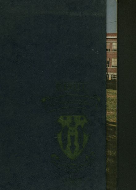 1967 Caldwell County High School Yearbook Cover