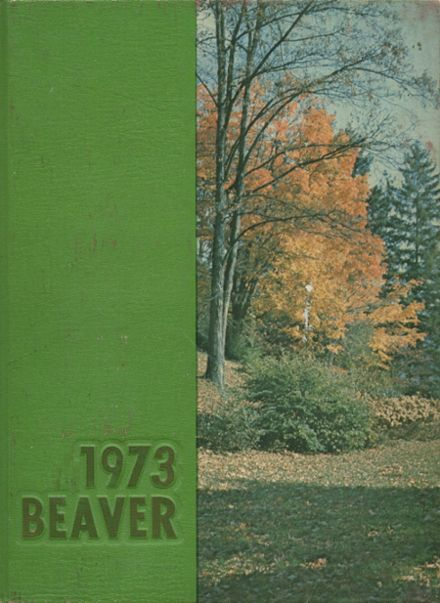 1973 Bluefield High School Yearbook Cover