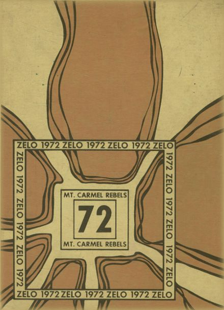 1972 Mt. Carmel High School Yearbook Cover