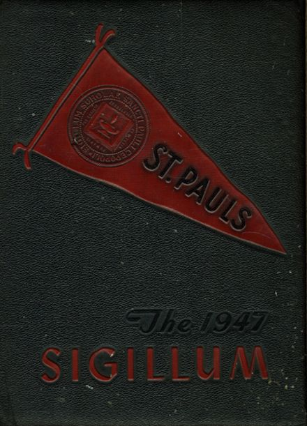1947 St. Paul's High School Yearbook Cover