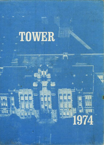 1974 Whitefish Bay High School Yearbook Cover