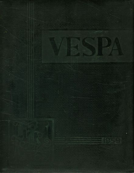 1959 Fulton High School Yearbook Cover