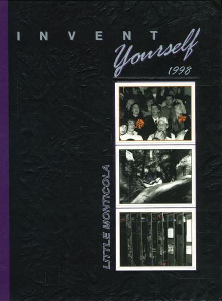 1998 University High School Yearbook Cover