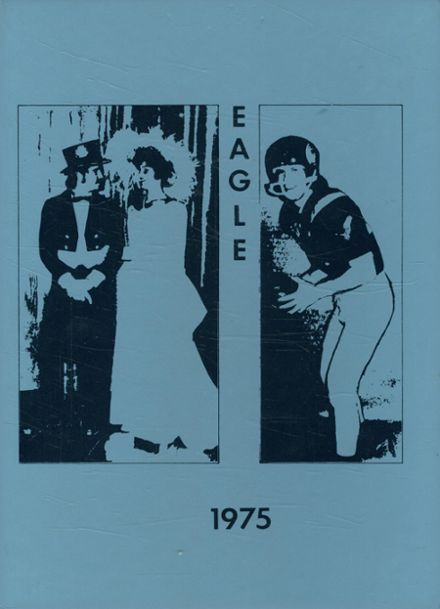 1975 Columbia Central High School Yearbook Cover