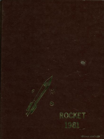 1981 Turrell High School Yearbook Cover