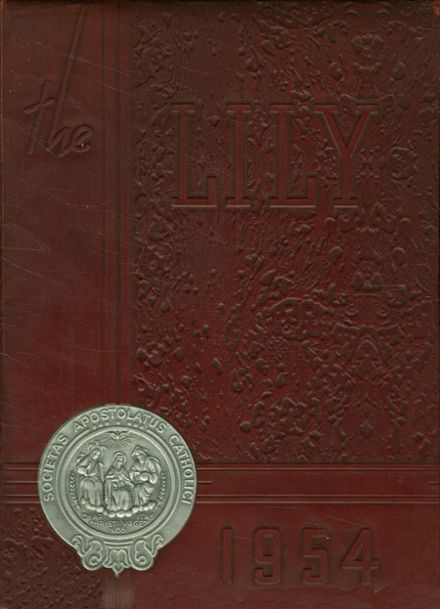 1954 St. Joseph's High School Yearbook Cover