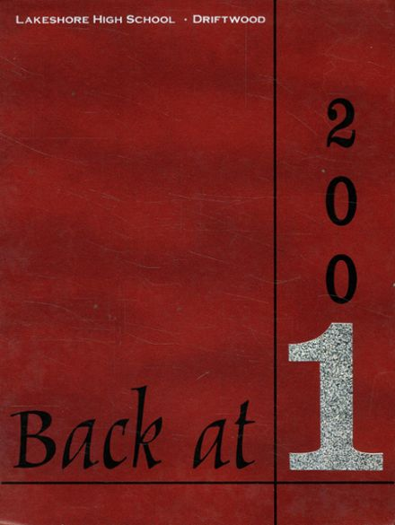 2001 Lakeshore High School Yearbook Cover