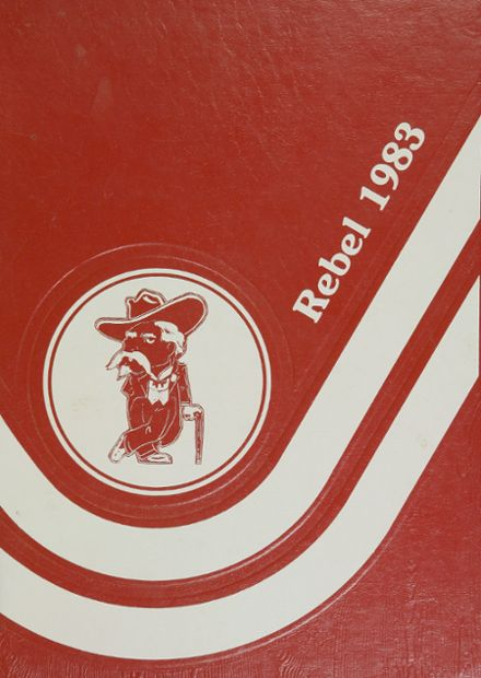 1983 Harrison Central High School Yearbook Cover