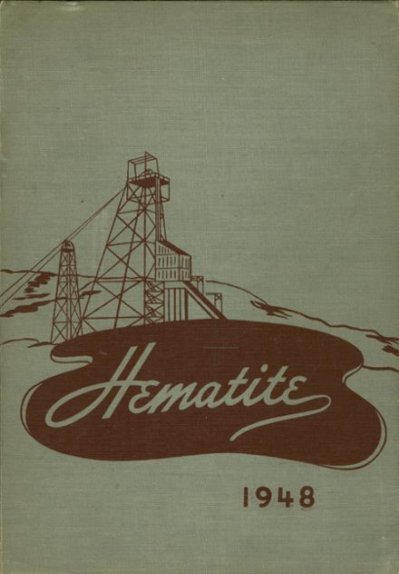 1948 Ishpeming High School Yearbook Cover