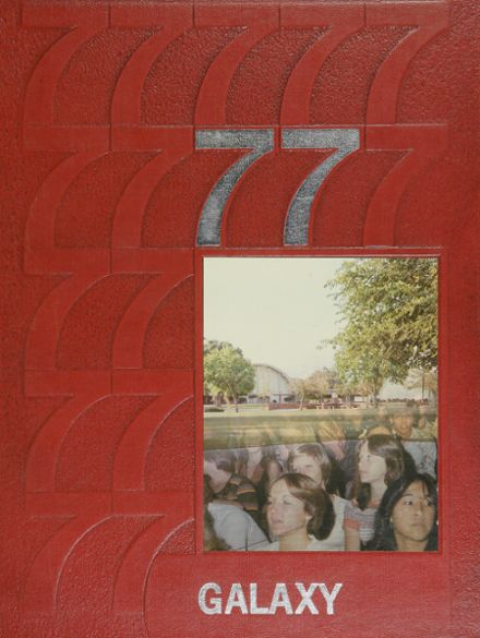 1977 North High School Yearbook Cover